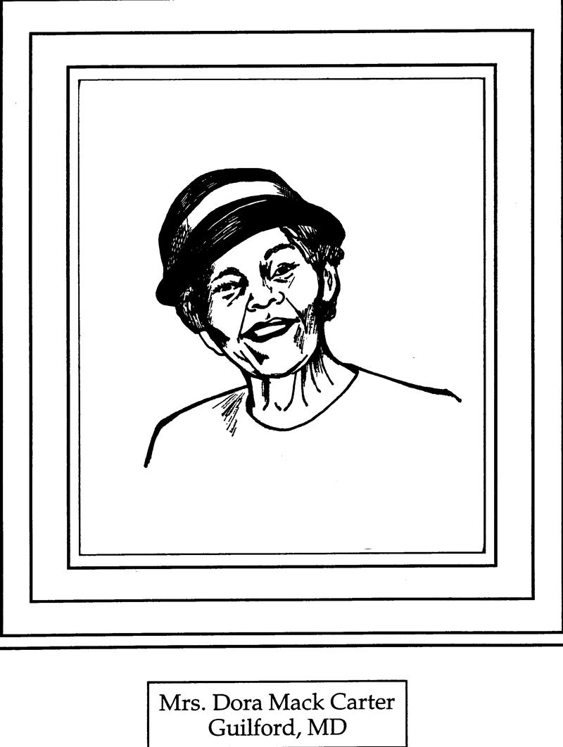 Mrs. Dora Mack Carter