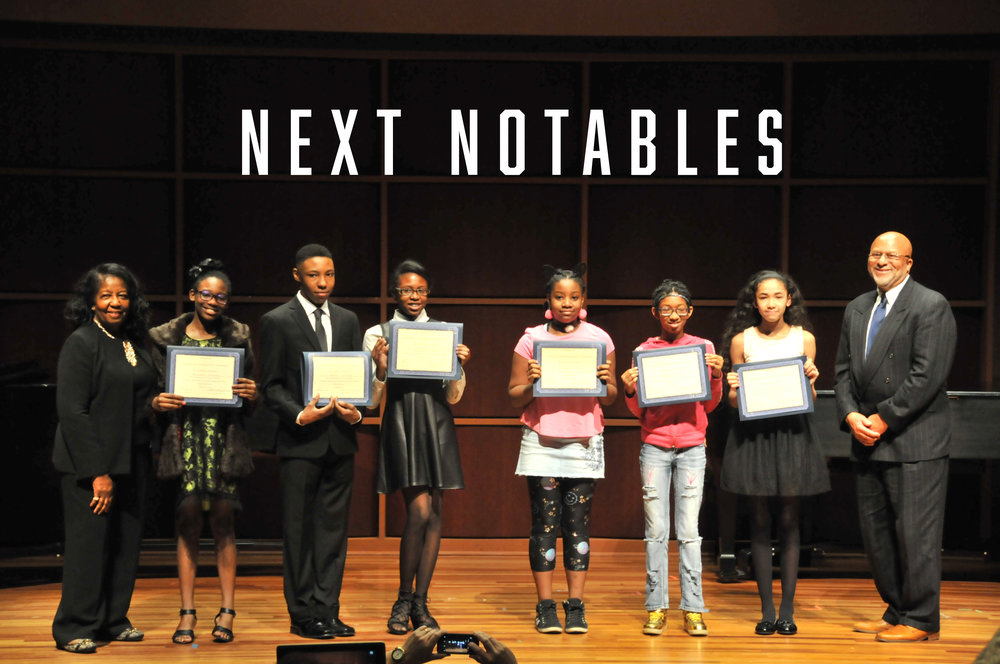Congratulation to our next notables on our 19th annual talent showcase