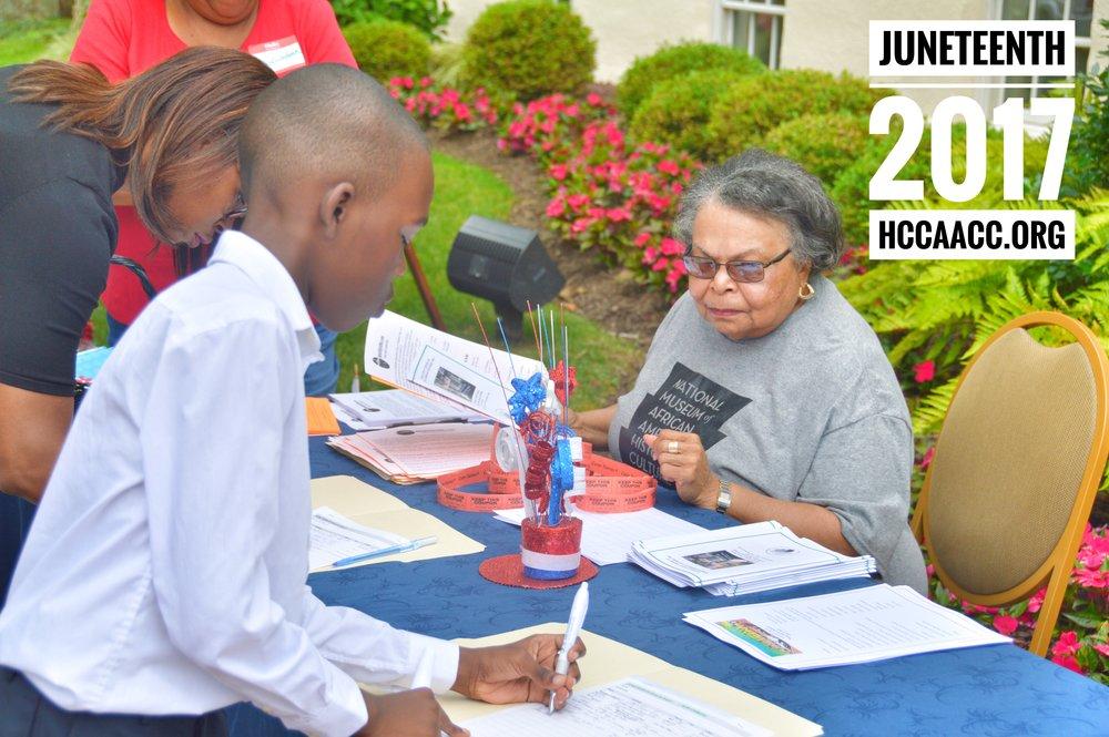 Juneteenth 2017 Hccaacc