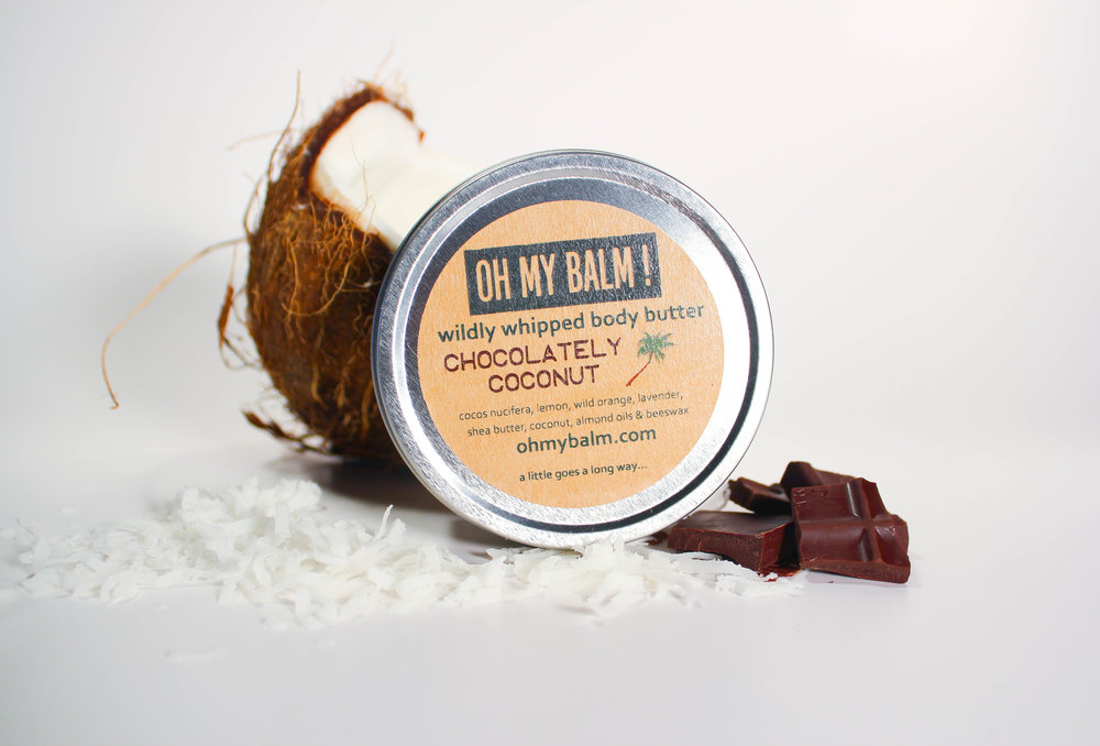 "♥️   Cindy, Glen Ridge, NJ: "" Seriously like putting chocolate coconut on your skin - so incredibly good, and better to know the scents come from the natural products not just added chemicals. Plus the body butter is amazing, soft and whipped, but goes on smooth, not dry and stiff like so many other brands. Fantastic! :)          ♥️"