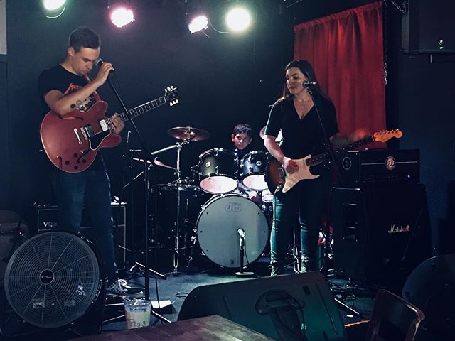Thanks to all who came out last night to see us at Tims Tavern!! We had a rockin time 🤘  Here is our version of an aesthetic photo ... enjoy 😬  #exapsos #music #seattle #pnw #rockers #timstavern #seattlemusicscene #gibson #fender #vox #marshall #DW #rock #alternativerock