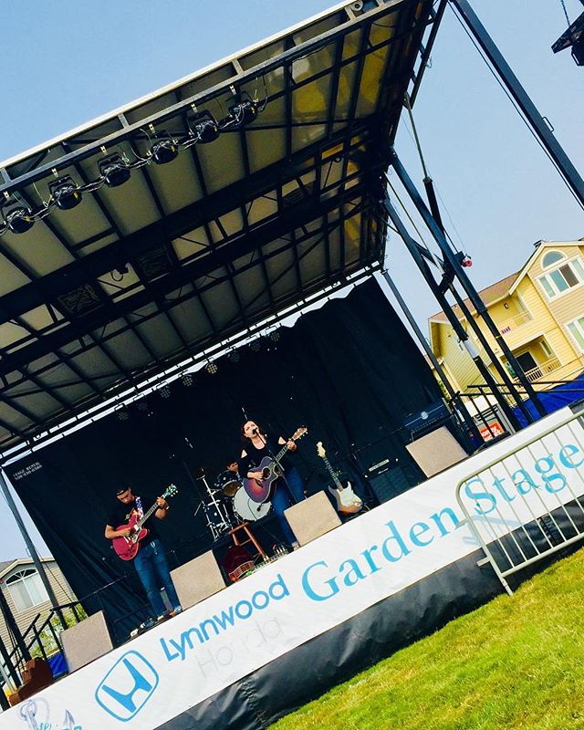 Thanks to all who came out yesterday to Taste of Edmonds! We had and awesome and met lots of cool people! • • • • #exapsos #summer2018 #tasteofedmonds #foodfestival #gardenstage #seattle #pnw #seattlemusic #rocknroll #rockon