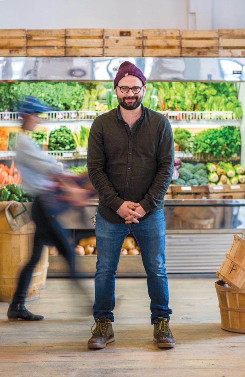 E D I B L E P H I L L Y •  APRIL 2018     2018 LOCAL HEROES, FOOD SHOP : Riverwards Produce