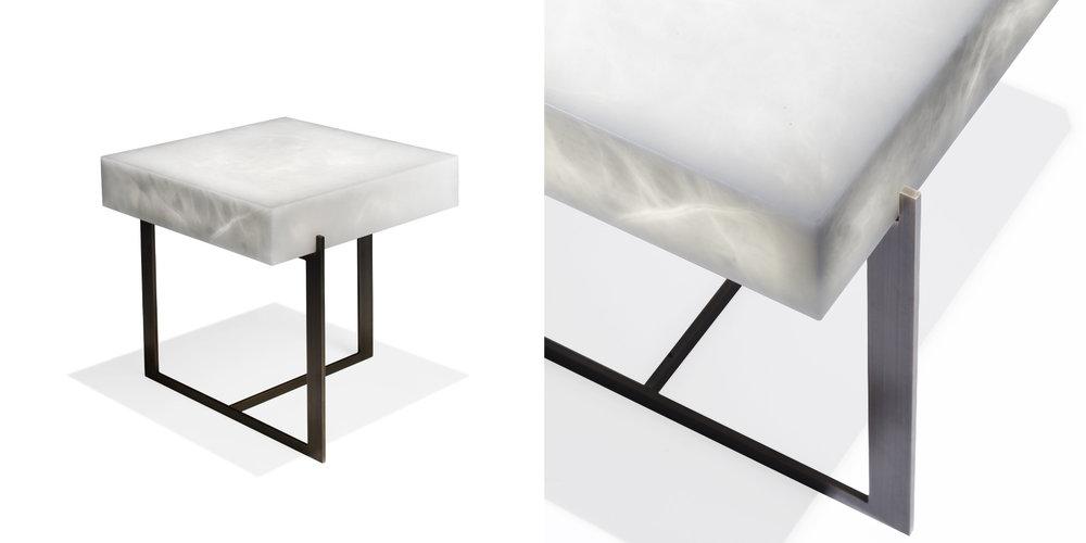 Elliot bedside table - Philippe Hurel