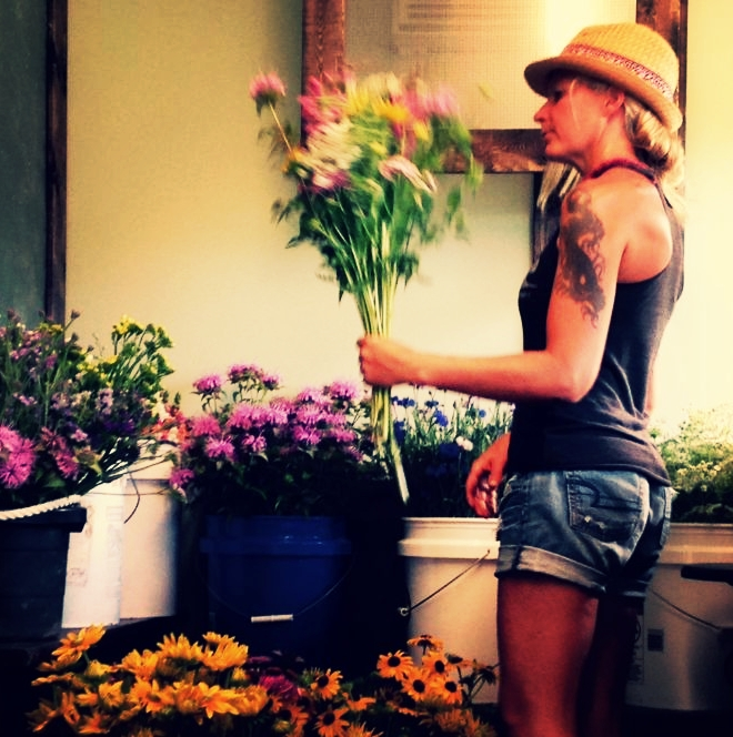 I am a farmer, I am a Florist, and I am a creator. I could not choose just one. - Robin Lindsey - Owner