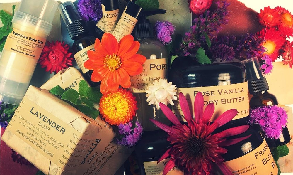 100% Natural Skincare - Inspired by and infused with botanicals from the farm.