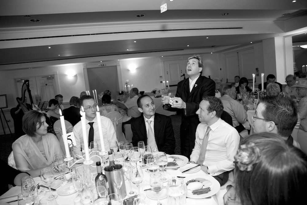 Table Magician - Magic at the Wedding Breakfast