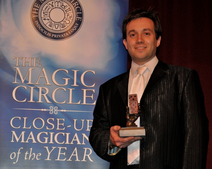 Magician in Derby