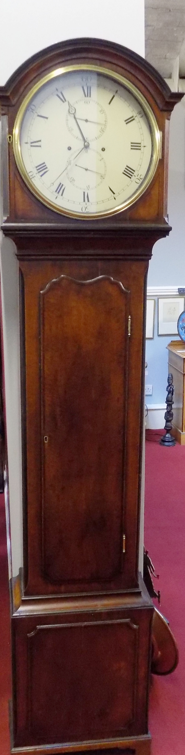 Mahogany cased Domestic regulator £1500.00