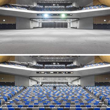 SwissTech Convention Center, Lausanne Switzerland