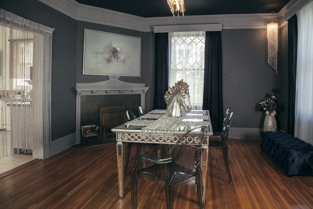 Dining Room: Ghost Room, Z Gallery Designs