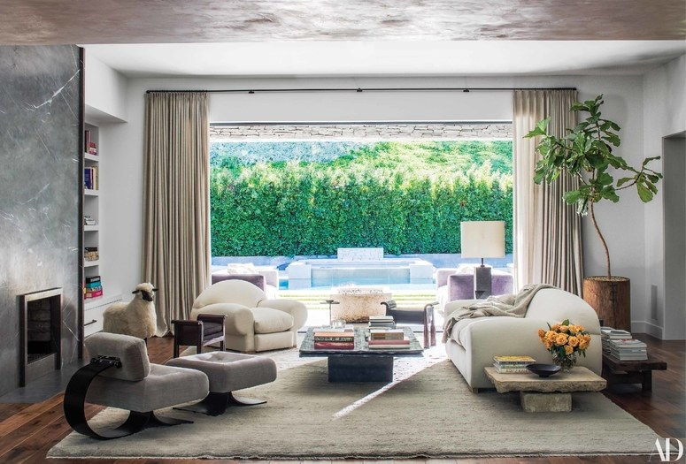 House Tour: Kris Jenners Hidden Hills Home - Always Looking For The Magic - Nicole Toland