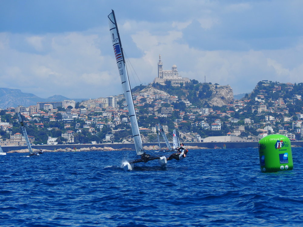2018 WCF Marseille -RL winning race 6 w cathedral in background 4.JPG