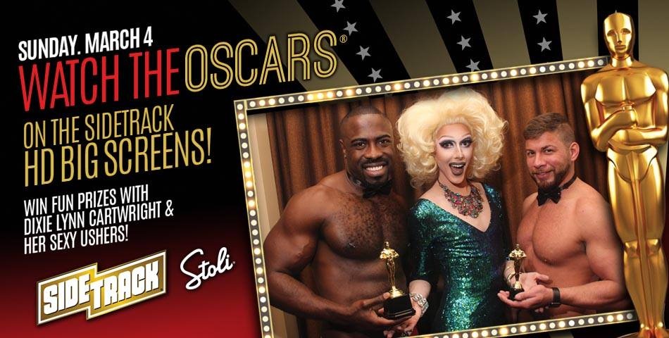 Academy Awards Sunday Funday - Sunday @ 1pm:Sidetrack