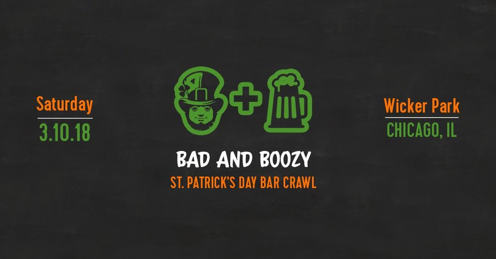 Bad and Boozy St. Patrick's Day Bar Crawl - Saturday at 4pm:Northside Bar & Grille