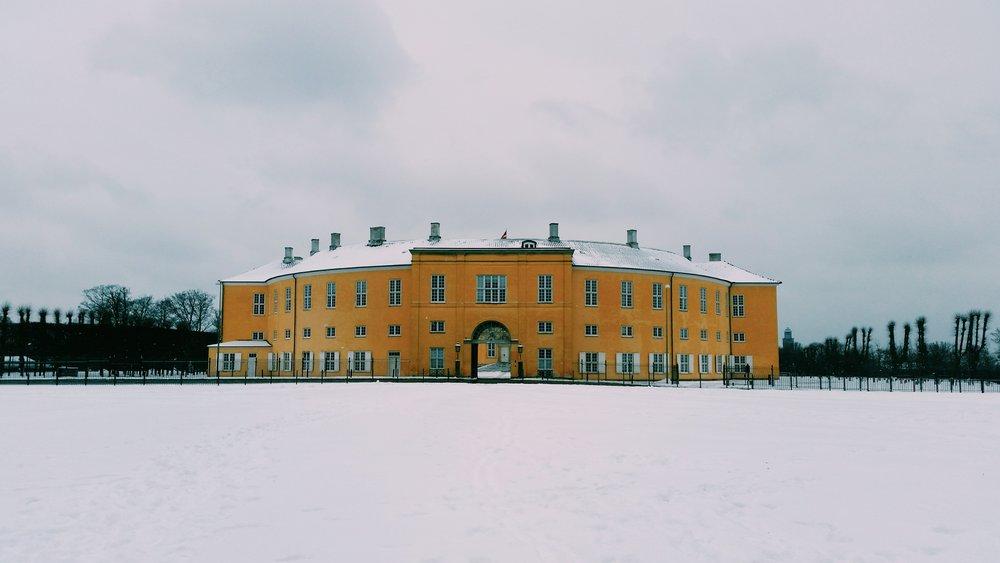 Frederiksberg Slot in Copenhagen, Denmark (2017)