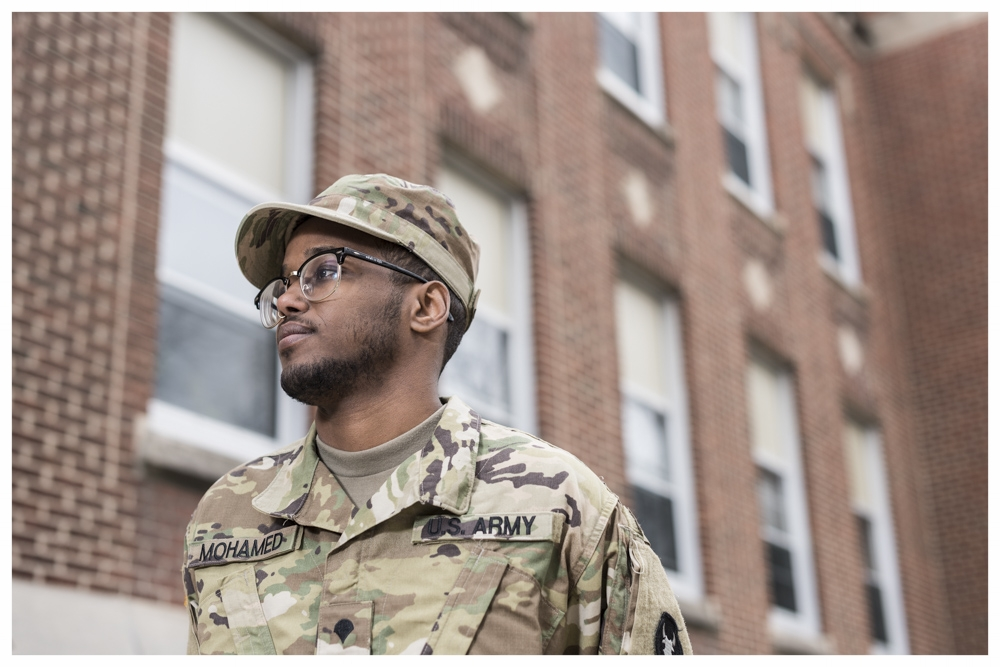 Abdirahman Mohamed - US Army: E-4. Specialist