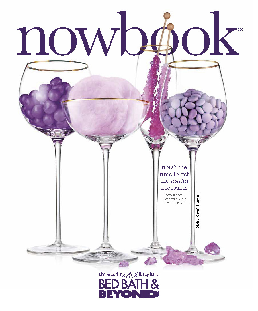 """The nowbook™ is used to help couples build a well-rounded """"giftable"""" registry and to get them to register for more """"giftable"""" items, like frames, flutes and serving pieces, at a variety of price points."""