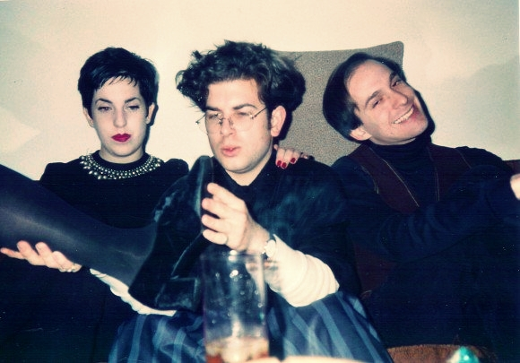 Amee, me, and Chuck, Detroit, 1993