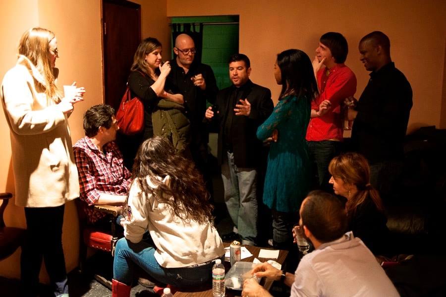 Green Room scene at  Black Cat DC  (Photo:  Andy DelGiudice )
