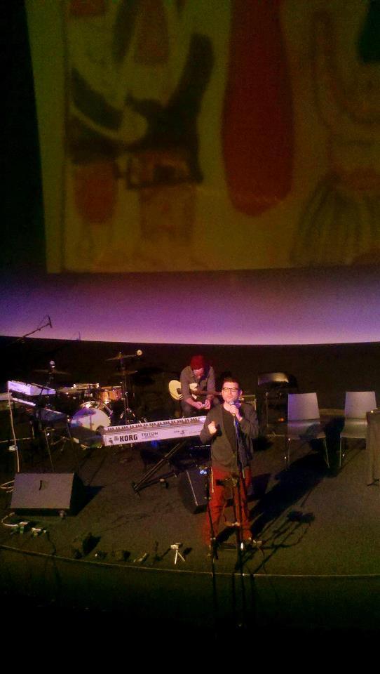 Shrake performing Gnomes at Artisphere in Arlington, VA.