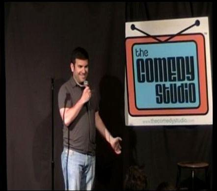 Saturday Night Standup Comedy Showcase at the Comedy Studio in Cambridge, MA.