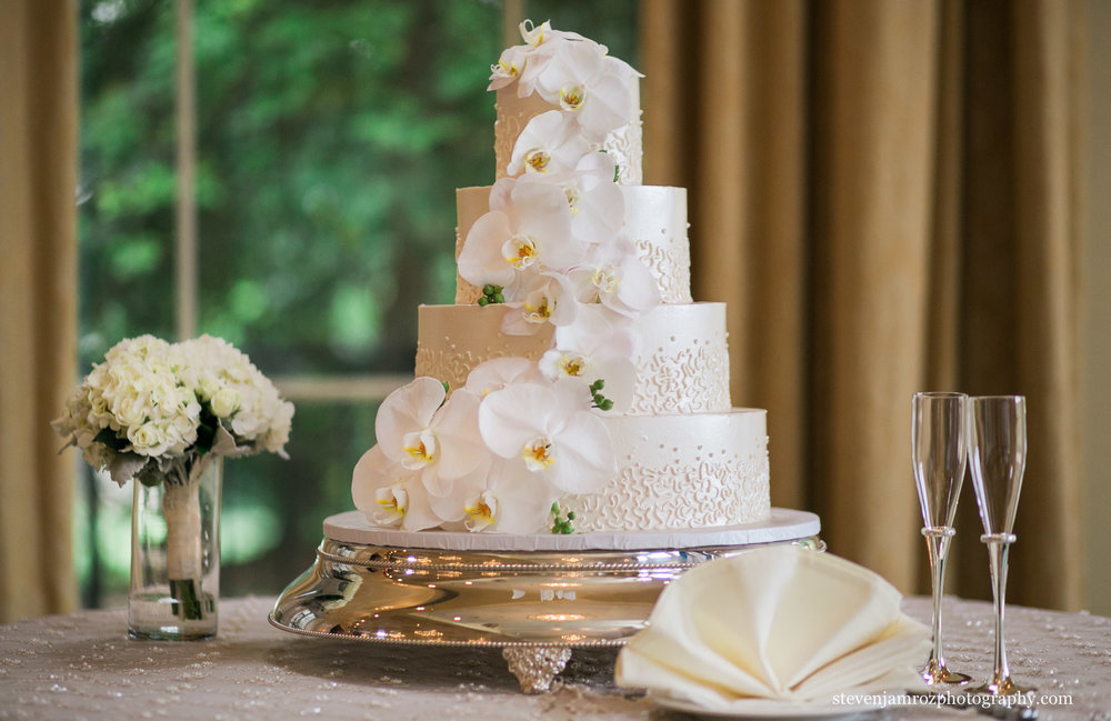 pretty-wedding-cake-white-gold-raleigh-wedding-colors.jpg