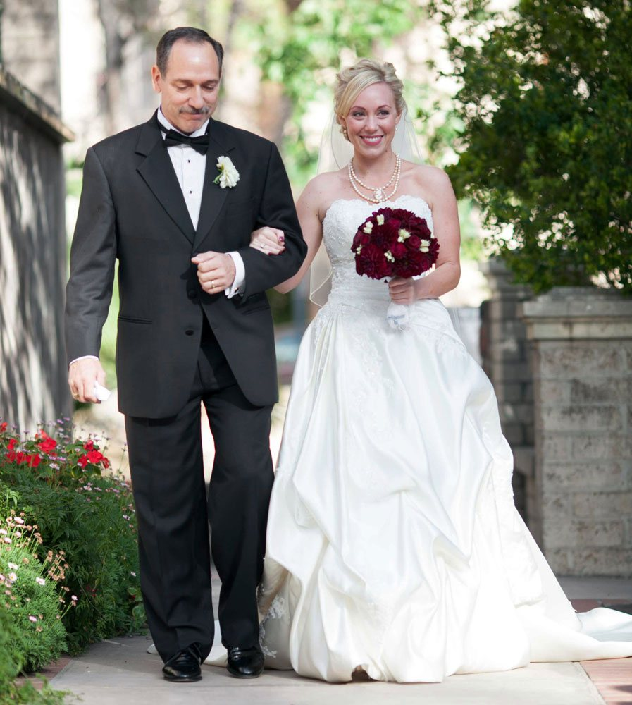 raleigh-bride-walks-down-aisle-wedding