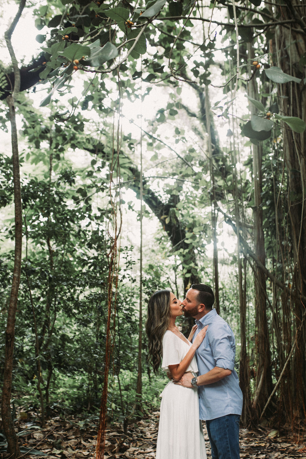 Tree Tops Park Engagement Picture