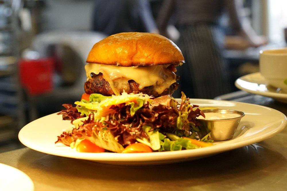 Charbroiled Kobe Bacon Burger