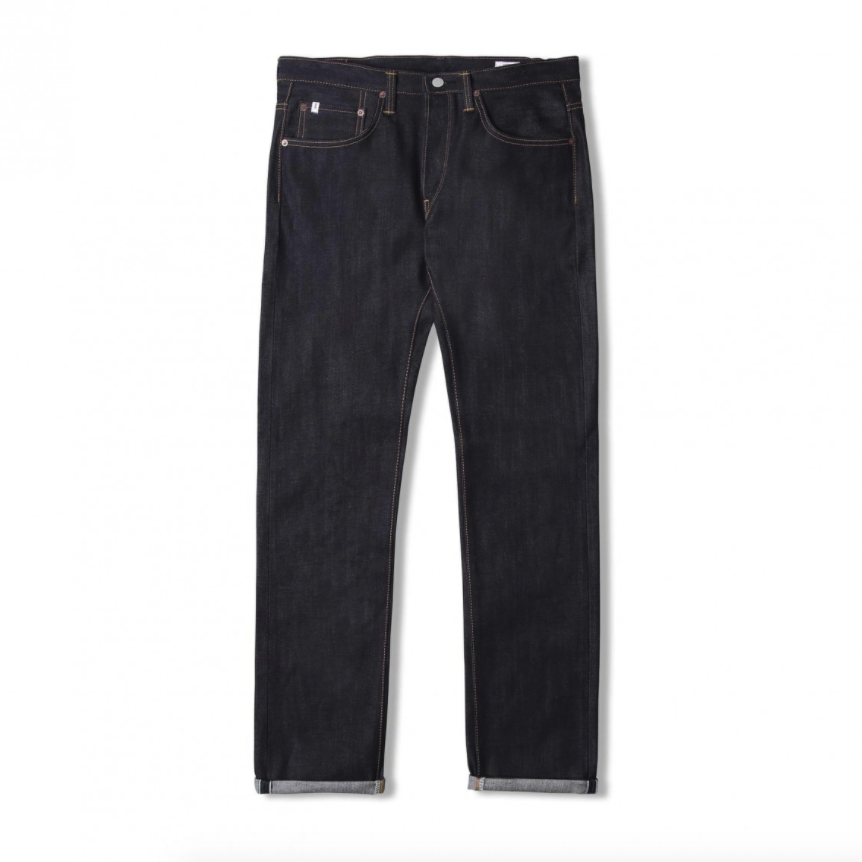 Edwin ED-55 Regular Tapered Jeans Nihon Menpu Japan Selvage Stretch Fabric