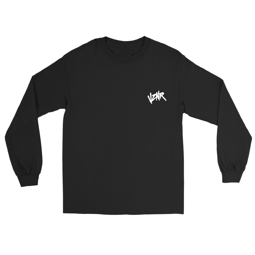 """HIDDEN MONSTERS"" BLACK LONG SLEEVE *LIMITED*"