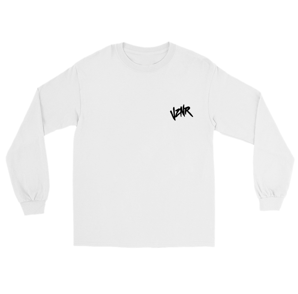 """HIDDEN MONSTERS"" WHITE LONG SLEEVE *LIMITED*"
