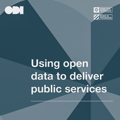 Using Open Data To Deliver Public Services COVER