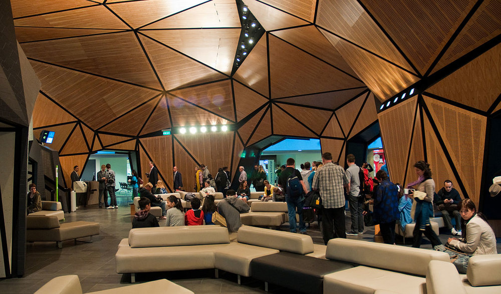 I haven't been to this lounge at the Wellington International Airport in New Zealand yet. But it's on the list ( Phillip Capper ).