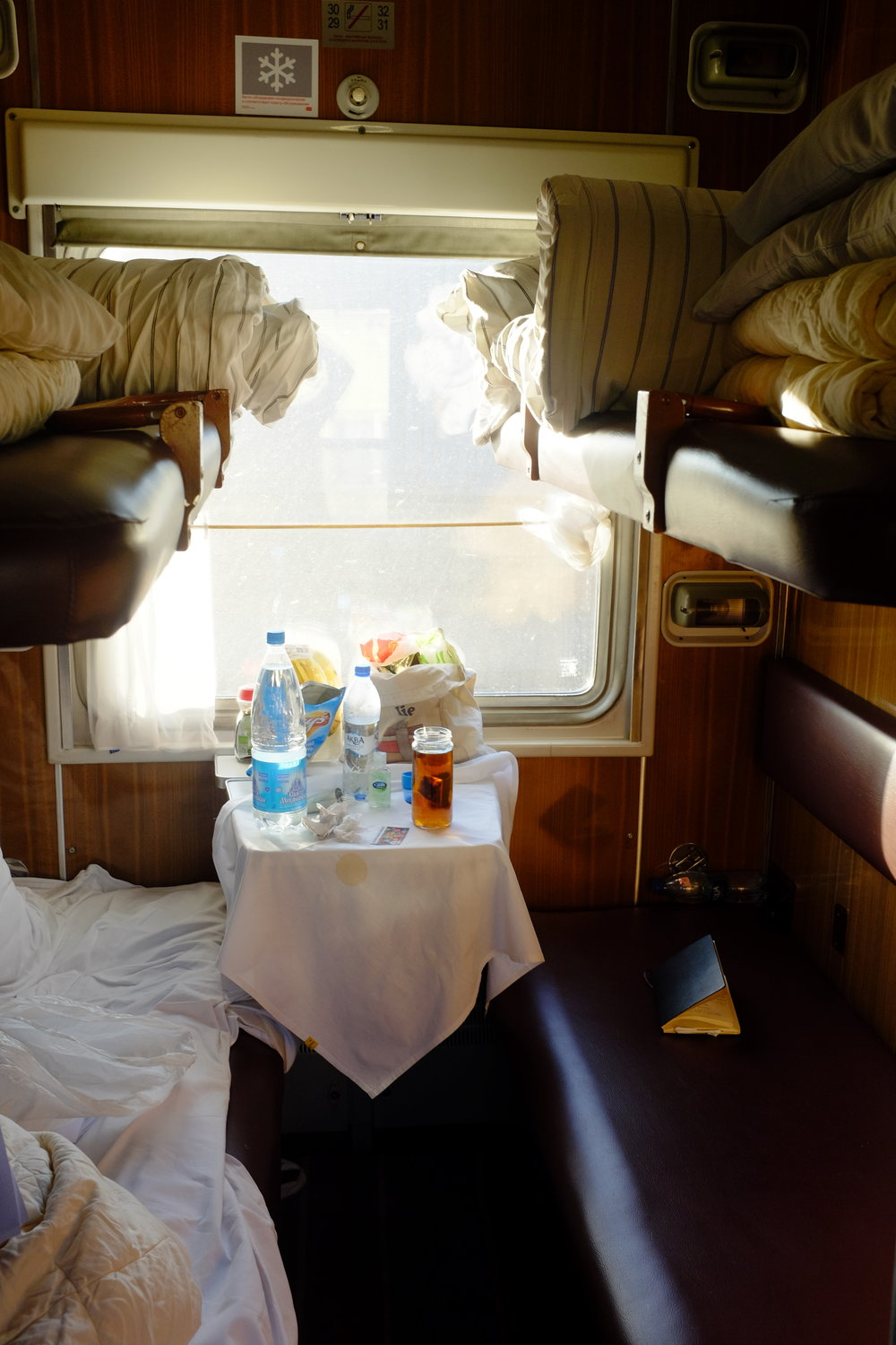 inside train car trans siberian 1
