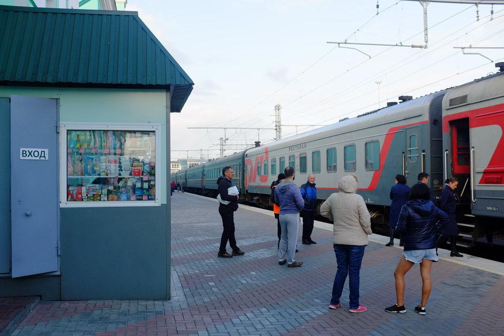 passengers trans siberian