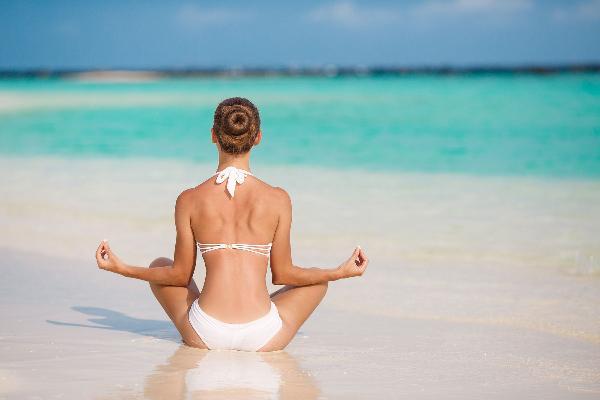 bahia principe yoga beach girl.jpg