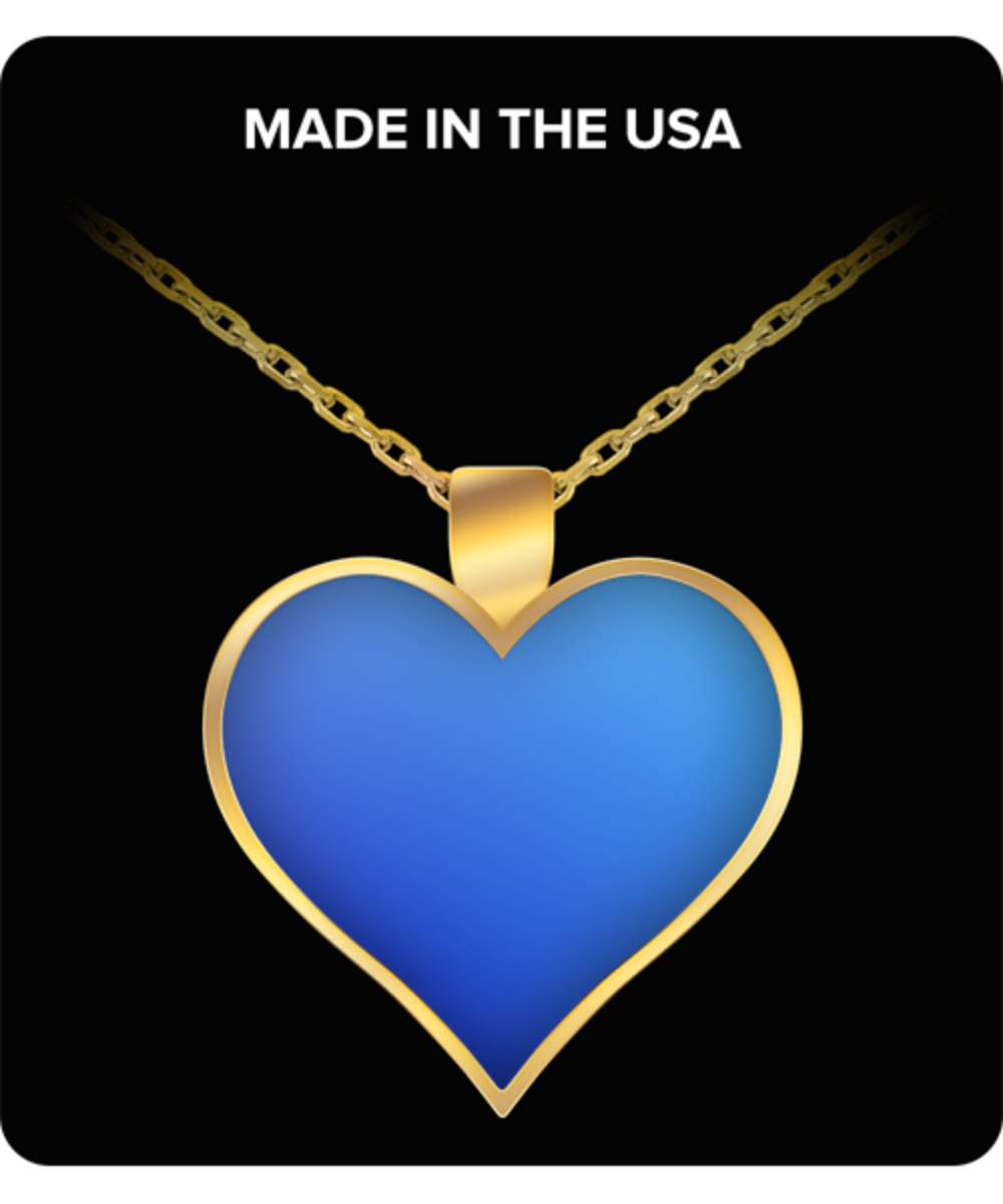 Siri's Heart necklace - $19.95