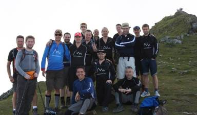 3 Peaks Challenge with the Remembering Hannah Baker Foundation