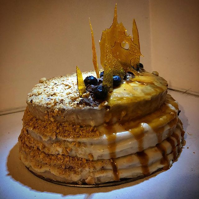One cake to rule them all... Hazelnut caramel raspberry/blueberry chocolate & salted caramel. . . . . #instacake #cake #birthdaycake #birthday #birthdaygirl #baked #munchies #bakedgoods #caramel #chocolatecake #homemade #homecook #eatcake #instaparty #desserts #dessert #instabirthday #instachocolate #cakes #chocolate #instafood #sweet #baking #cakedecorating #bakery #pastry #birthdaycake #cakedesign #cakesofinstagram #cakestagram @sandieboss