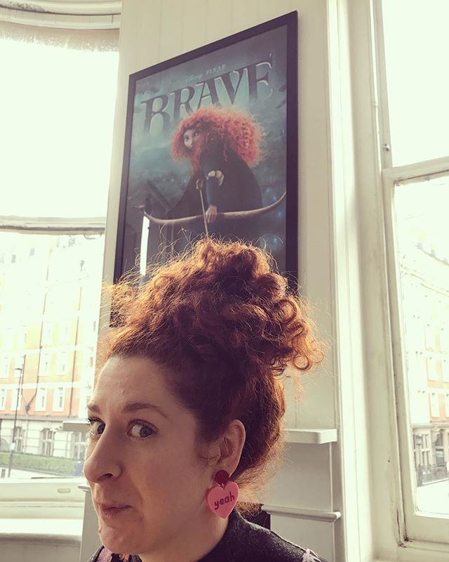 That's a good sign for our meeting with @wftv_uk 👌🏻 Brave women with curly red hair anyone? #ffsfest #wftvuk #ffs18 #womeninfilm
