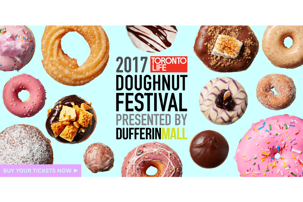 DUFFERIN MALL HOSTS TORONTO'S FIRST EVER DOUGHNUT FESTIVAL, JUNE 25 - May 30, 2017