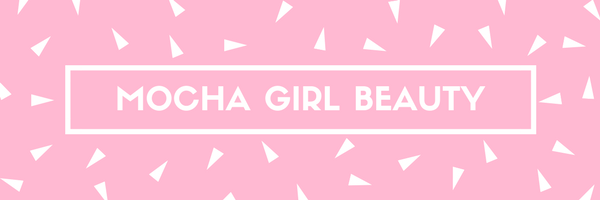 Mocha girl beauty banner