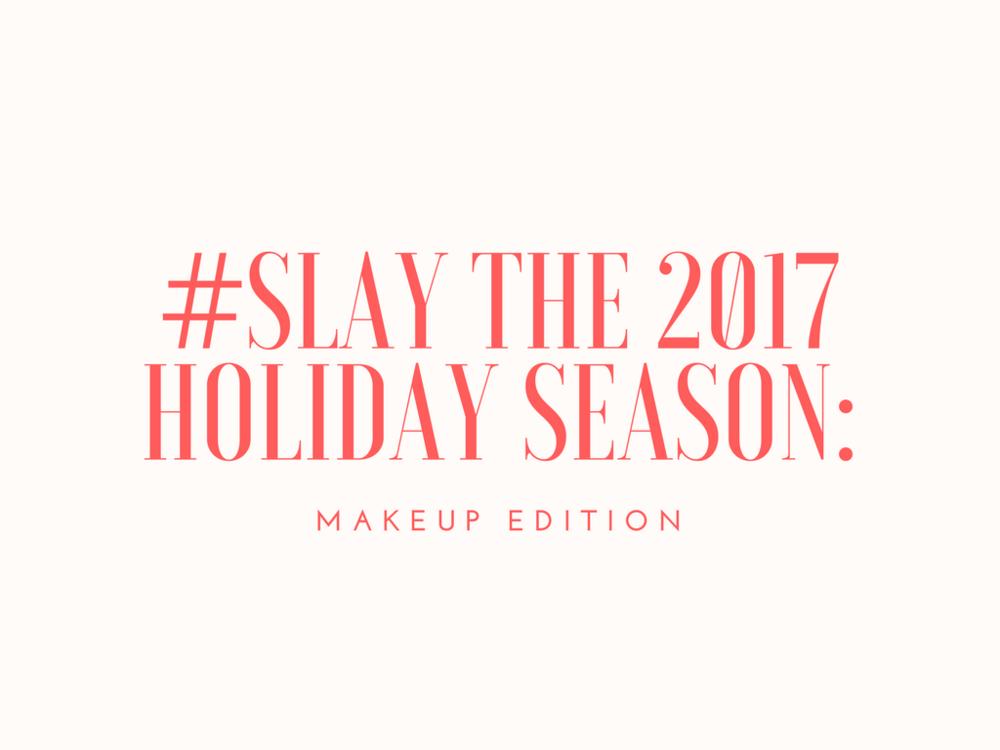 Holiday season makeup