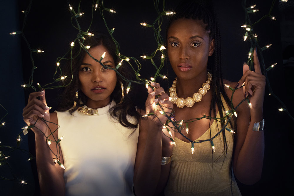 Photographer: @chrisdurandalba  Makeup artist: @itsmspinky Models: @_chrstnzng, @cyn_hamm, @riri_e & @hjnoorie  Text: Melissa Borrego &@im_kelpsea