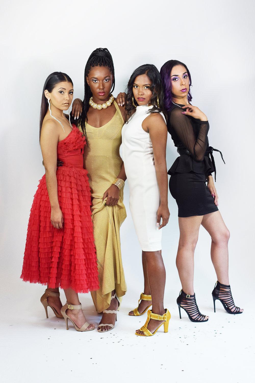 Photographer: @chrisdurandalba    Makeup artist: @itsmspinky   Models:  @_chrstnzng ,  @cyn_hamm ,  @riri_e  &  @hjnoorie    Text: Melissa Borrego & @im_kelpsea