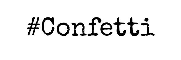 #confetti lip art