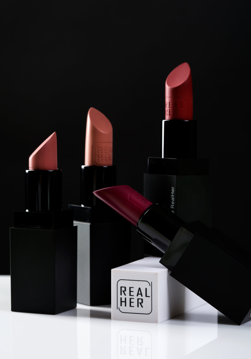 realher mocha girl beauty lipstick swatch