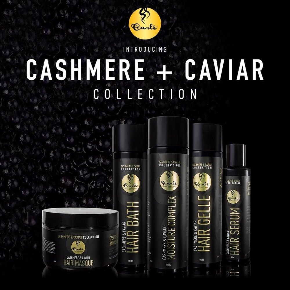 curls haircare caviar collection